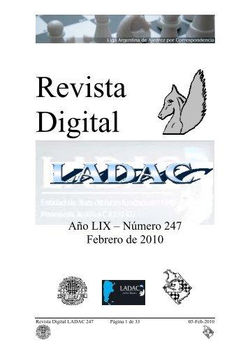 Revista Digital LADAC