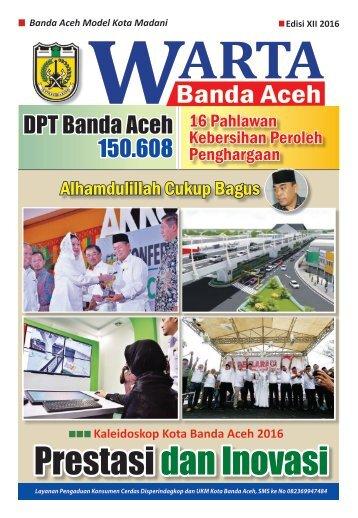 Warta Banda Aceh EDISI XII 2016