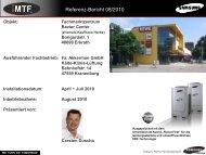 Referenz-Bericht 08/2010 - MTF GmbH