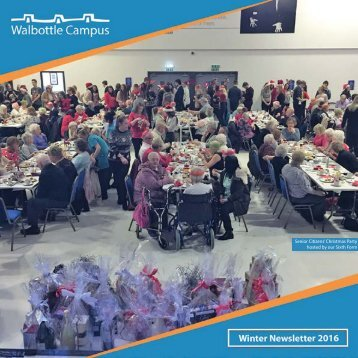 Senior Citizens' Christmas Party hosted by our Sixth Form