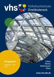 Programm Frühjahr 2017 - Volkshochschule Dreiländereck