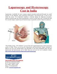 Laparoscopy and Hysteroscopy Cost in India