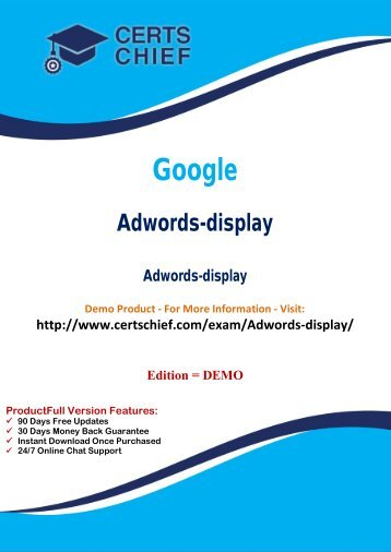 Adwords-display Certification Guide