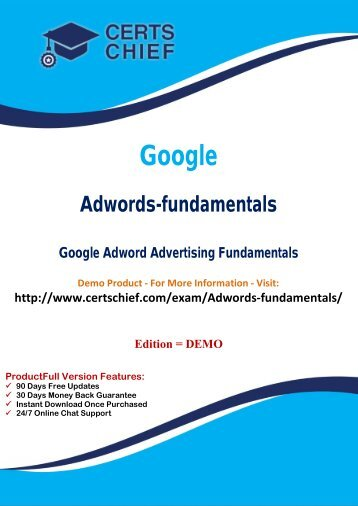 Adwords-fundamentals Certification Guide