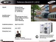 Referenz-Bericht 01 | 2012 - MTF GmbH