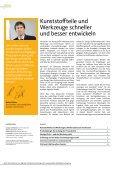 TEChNoLoGIE FüR KUNSTSToFF-FoRMTEILE SoFTWARE FüR ... - Page 2