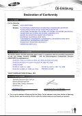 Declaration of Conformity - Page 4
