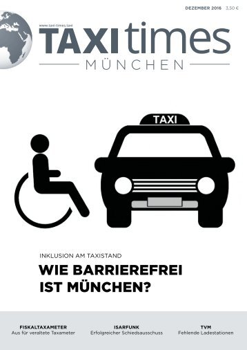 Taxi Times München - Dezember 2016