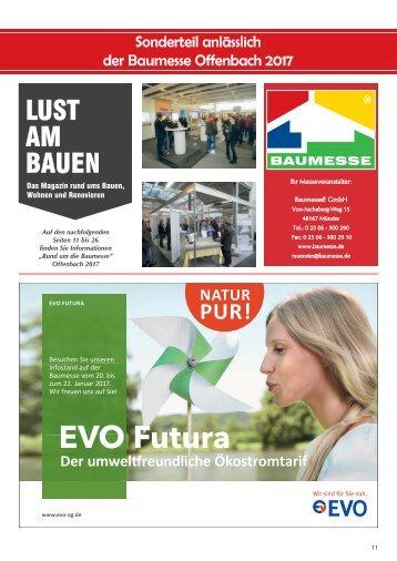 Sonderteil Baumesse Offenbach 2017