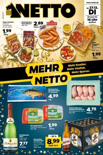 Netto Prospekt kw52 onlineprospekt.com