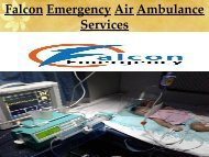 Save Patients Life by Falcon Emergency from Hyderabad-Lucknow