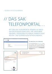 SAK Telefonportal