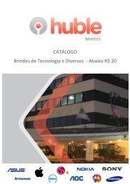 Catalogo Brindes-Menos de 20 reais