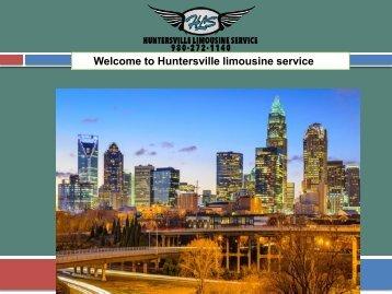 Huntersville limousine service