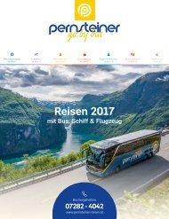 Pernsteiner Reisen - Reisen 2017 mit Bus, Schiff & Flugzeug