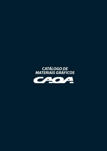 Catálogo de Materiais Gráficos CAOA