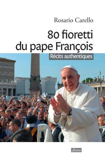 80 fioretti du pape François