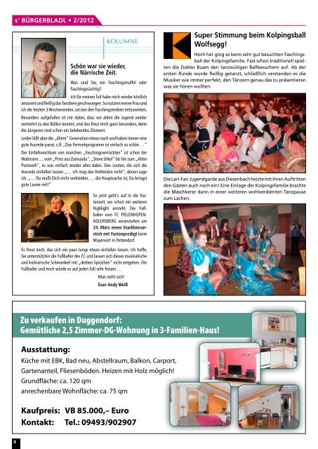 Ausgabe Februar 2012 - druckservice-weiss.de