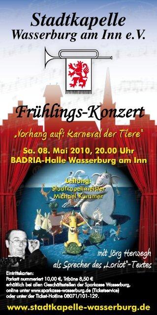 sparkasse wasserburg ticketservice