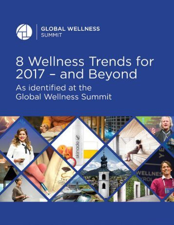 8 Wellness Trends for 2017 – and Beyond
