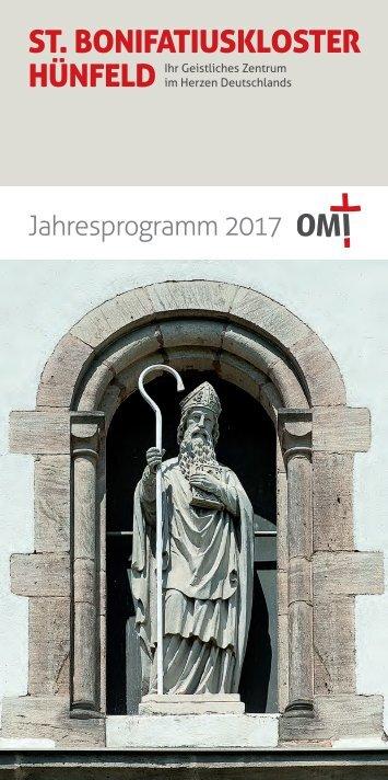 Jahresprogramm 2017