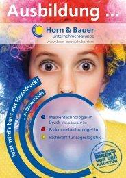 Ausbildung ... - Horn und Bauer