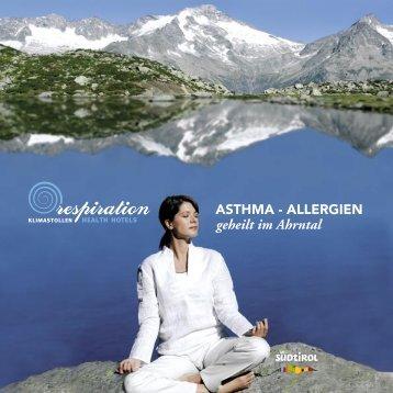 geheilt im Ahrntal - respiration Health Hotels