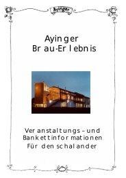 Ayinger Brau-Erlebnis