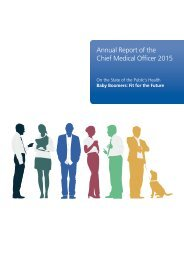 Annual Report of the Chief Medical Officer 2015