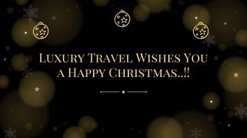 Christmas Offer From Luxury Travel