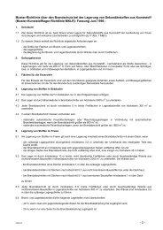 Muster-Kunststofflager-Richtlinie (MKLR) - Bauordnungen