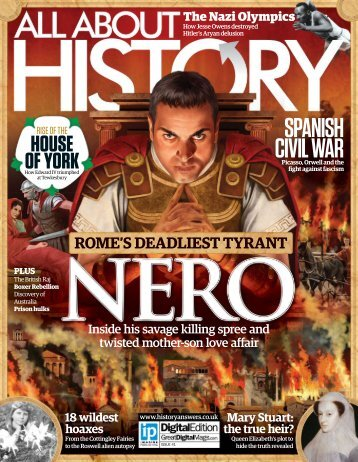 All About - History - Nero - Rome's Deadliest tyrant