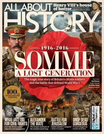 All About - History - Somme A Lost Generation