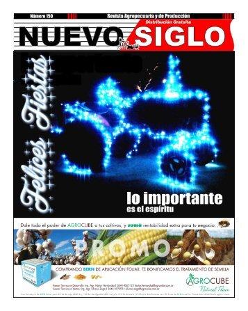 Revista Agropecuaria Nuevo Siglo Número 150 - Diciembre 2016