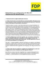 WPS Musikrat - FDP Sachsen-Anhalt