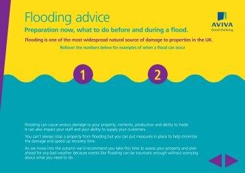 Flooding advice