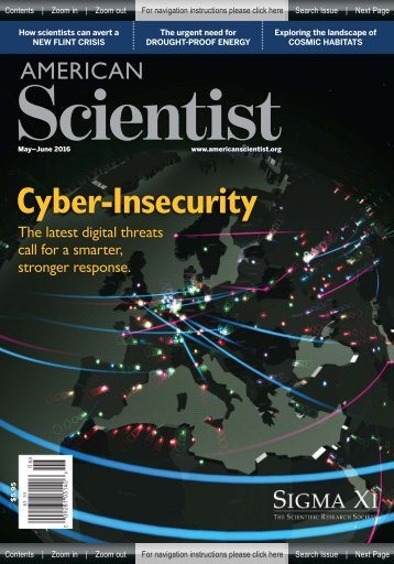 American Scientist - Cyber Insecurity