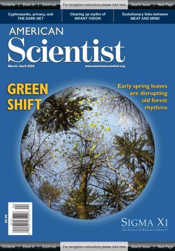 American Scientist - Green Shift