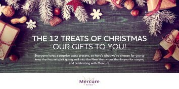 THE 12 TREATS OF CHRISTMAS OUR GIFTS TO YOU!