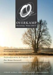 Overkamp - die Zeitung - Winter 2016/17
