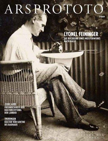 lyonel Feininger - Kulturstiftung der Länder