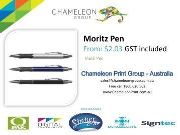 Moritz Pen - Chameleon Print Group