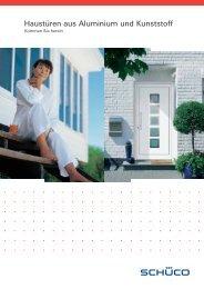 Haustüren aus Aluminium und Kunststoff - Fenster - Türen ...
