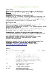 Am 27. 10. 2009 tagte der Kulturrat im Gleimhaus - Halberstadt