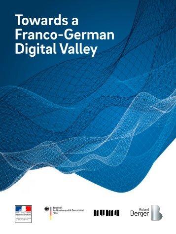Towards a Franco-German Digital Valley