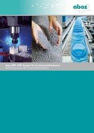 abas-ERP für die Kunststoffindustrie - ABAS Software AG