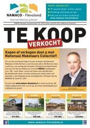 NAMACO Flevoland Woonmagazine, uitgave januari 2017