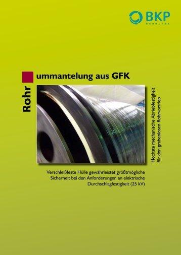 ummantelung aus GFK - BKP Berolina Polyester GmbH & Co. KG