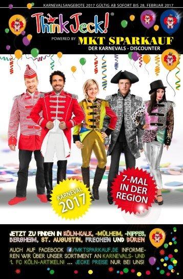 Think Jeck! - Angebote Karneval 2017