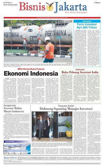 Bisnis Jakarta 15 Desember 2016